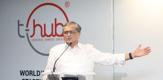 Ravi Narayan CEO of T-Hub.