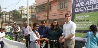Zoomcar Gave Away Bicycles to the Less Privileged to Celebrate the 70th Republic Day
