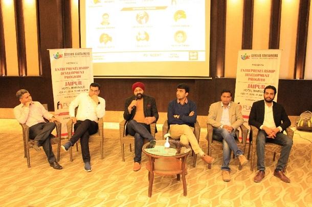 Gensus Edutainers organises A full day Entrepreneurship Development Program in association with Fund Nest
