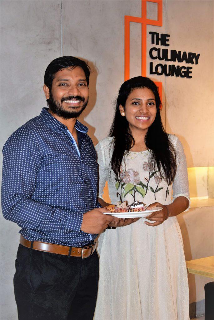 L-R Gopi Krishna Founder TCL and Sushma Thota, Chief Impossible Chef 2