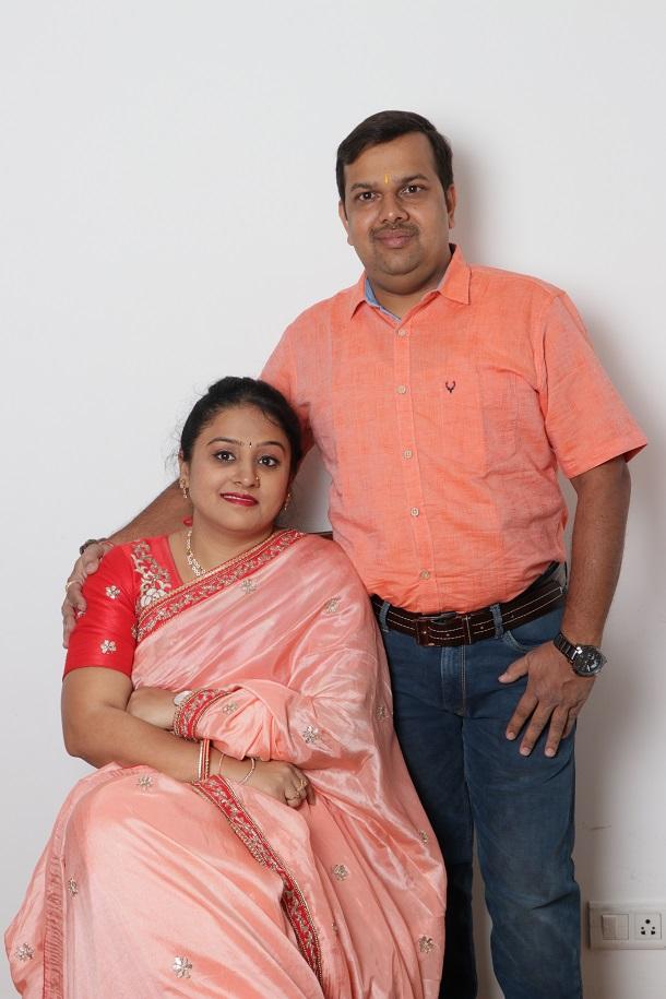 Mrs. Supriya Sampath and Mr. Sampath Raj - Founder and Co-Founder of Ketan Diamonds