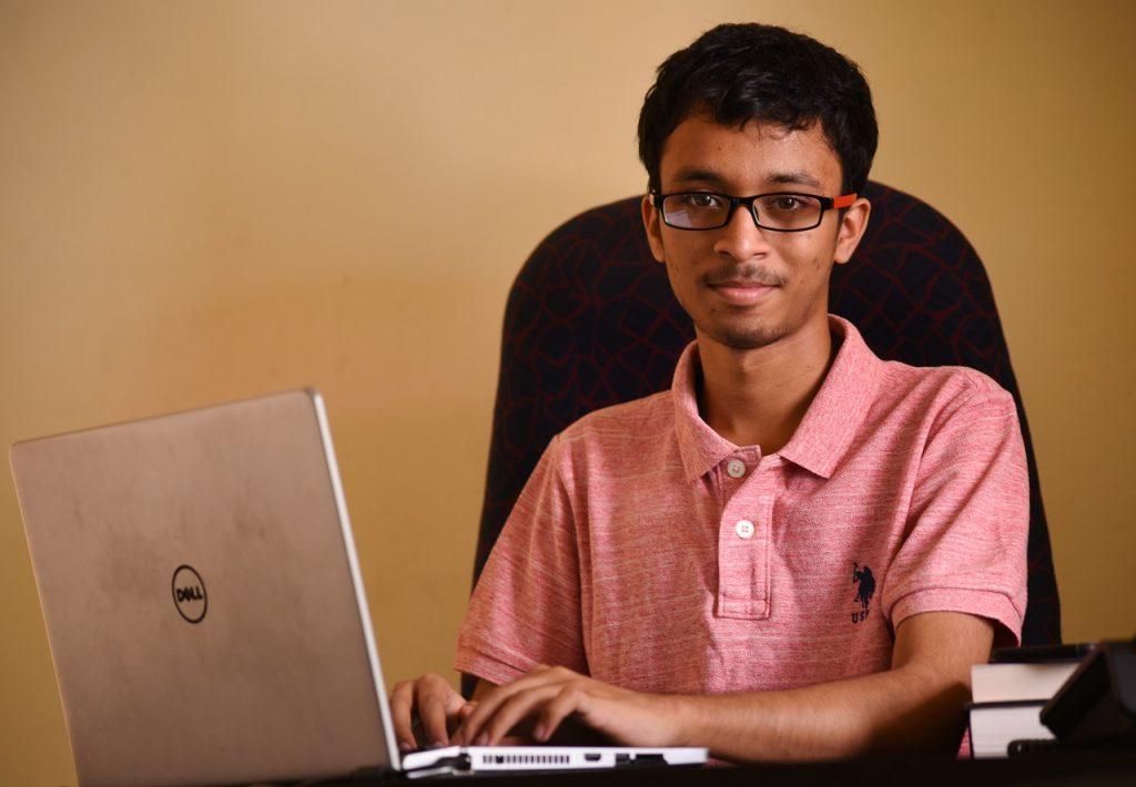Sankarsh Chanda - Founder & CEO, Hyderabad based Fintech Startup savart