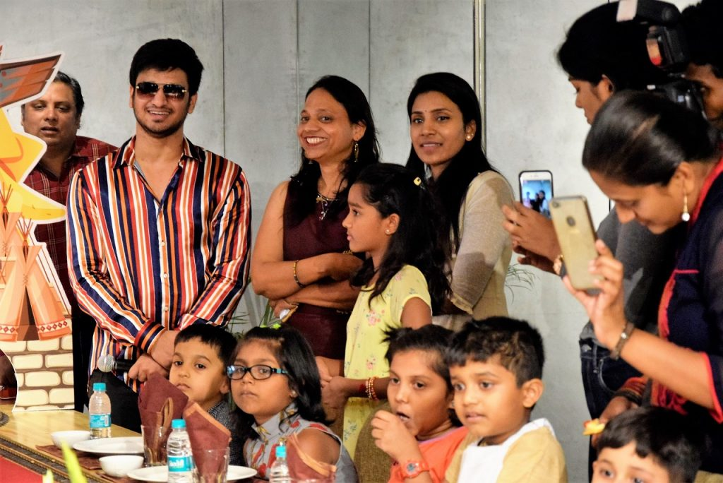 Telugu Actor Nikhil with Impossible Chefs