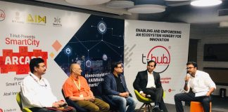 Panel Discussion Smart City Arcade by T-Hub & NITI Aayog