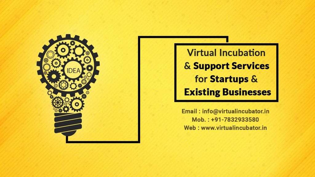 virtual business incubation & online support services your startup