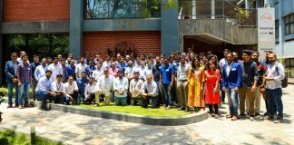 45 startups of Lab32 Program with T-Hub CEO