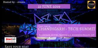 Evento to Organise Chandigarh Tech Summit - 2019 on 21st June 2019