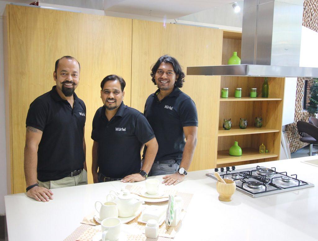 Founders of Würfel Küche