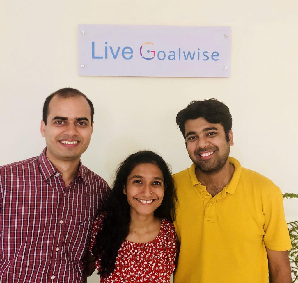 Goalwise Founders (from left to right) Swapnil Bhaskar, Savitri Bobde & Ankur Choudhary