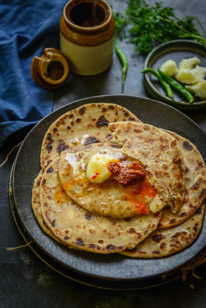 Recipe Pic - Aloo Paratha