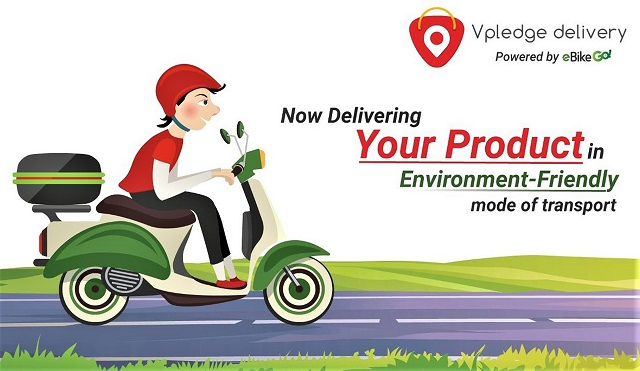 eBikeGo announced joint venture with Vpledge Delivery