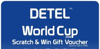 Detel announces 'Detel World Cup Scratch and Win Offer'