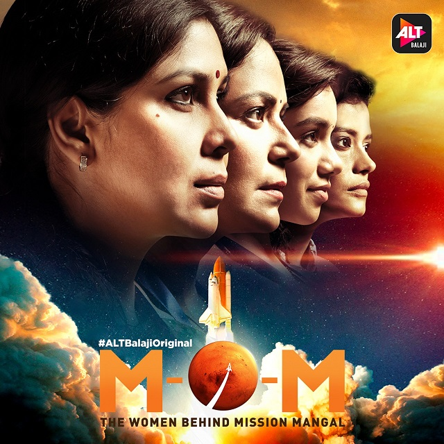 Ekta Kapoor unveils the poster of ALTBalaji's - The upcoming series M.O.M. 'Mission Over Mars' on her birthday