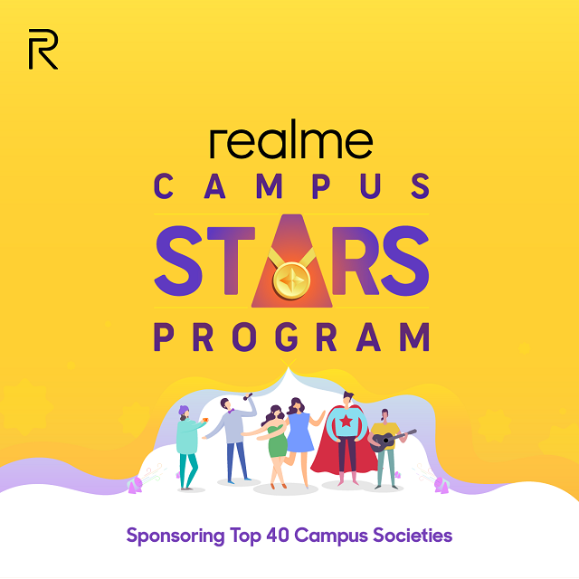 40 College Societies and Students Get a Chance to Showcase Their Talent With Realme's Campus Stars Programs