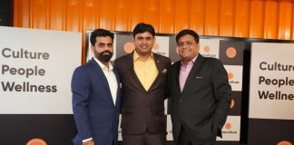 Left to Right - Jeetendra, Director, Abhilash Shukla, CEO & Director Ashish Shukla, Director, OneCulture
