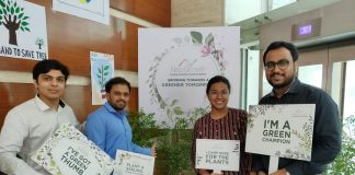 NeoGrowth joins hands with Lets Green Foundation; Distributes Neem saplings to various institutions
