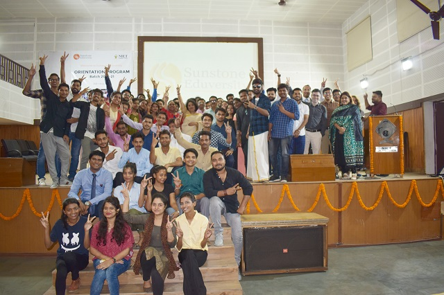 Sunstone Eduversity organised orientation program at NIET Greater Noida
