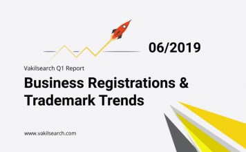 The First Quarterly Report for Startup and Trademark Registrations in India