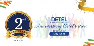 Detel turns 2, Announces Exciting Deal on its Range of Products