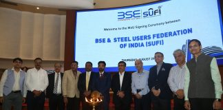 For more stronger and transparent steel trade, BSE Inks MoU to allow trade in steel futures on BSE