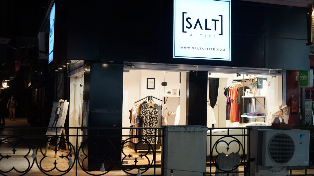 Online Fashion-Tech Startup, Salt Attire launches its Offline Experience Store in Gurgaon