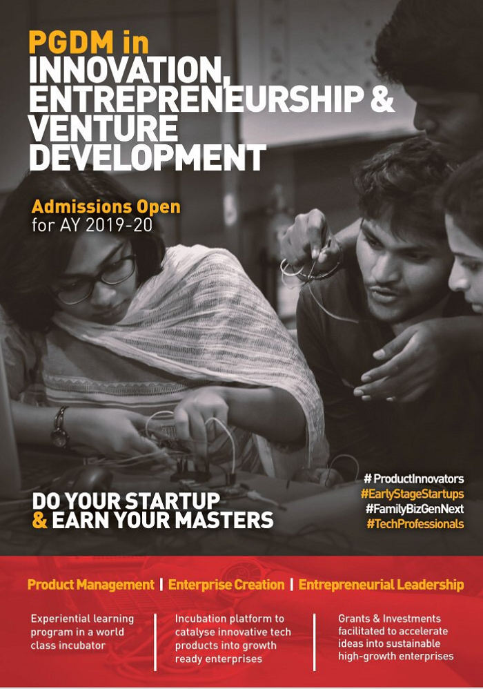PGDM in Innovation, Entrepreneurship & Venture Development