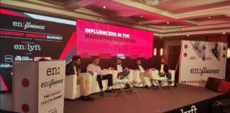 Panel discussion on 'Influencers in the Marketing Ecosystem' witnessed experts from the industry (L to R) Ajay Kudva, Saurabh Sancheti, Savio Joseph, Sunu Nair and Mandeep Singh