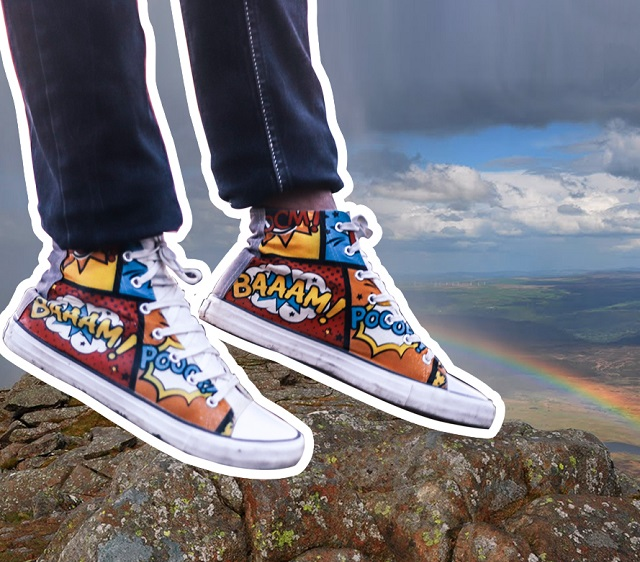 Quirky shoes for the fun millennial