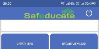 Safeducate's Official App to Efficiently Store Data Regarding Mobilization Activities in Real-time