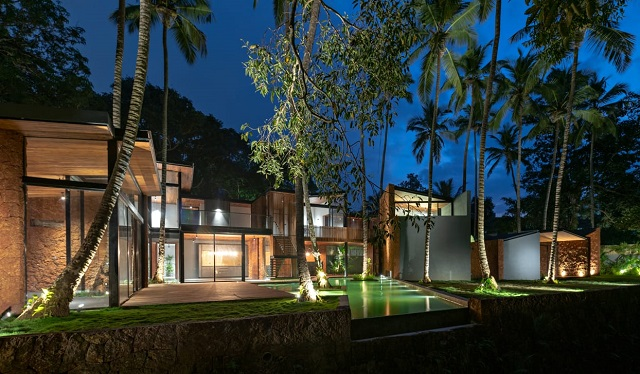 Villa in the palms by Anokha Goa