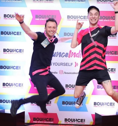 BOUNCEinc Australia Team members showcasing free movement at casting call event