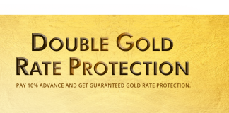 Candere Introduces Double Gold Rate Protection Plan Protect its Clients From Higher Gold Rates