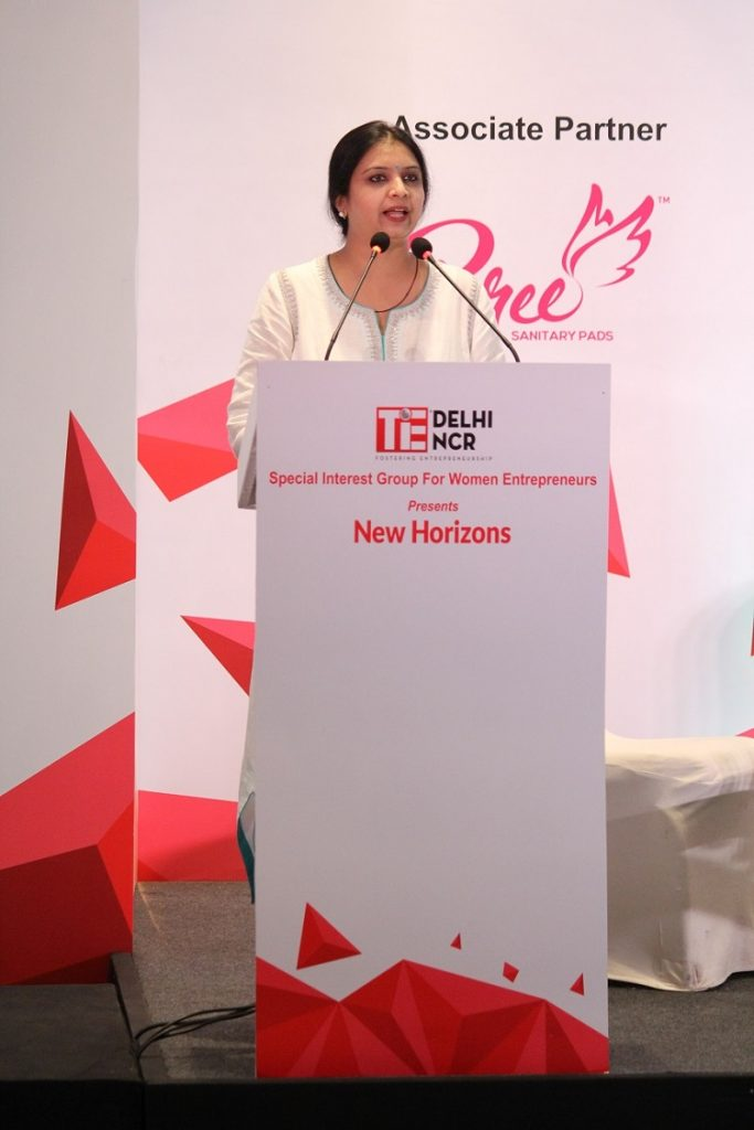 Geetika Dayal, Executive Director, TiE Delhi-NCR at New Horizons