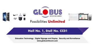 Globus Infocom to take part in the InfoComm India 2019 Expo