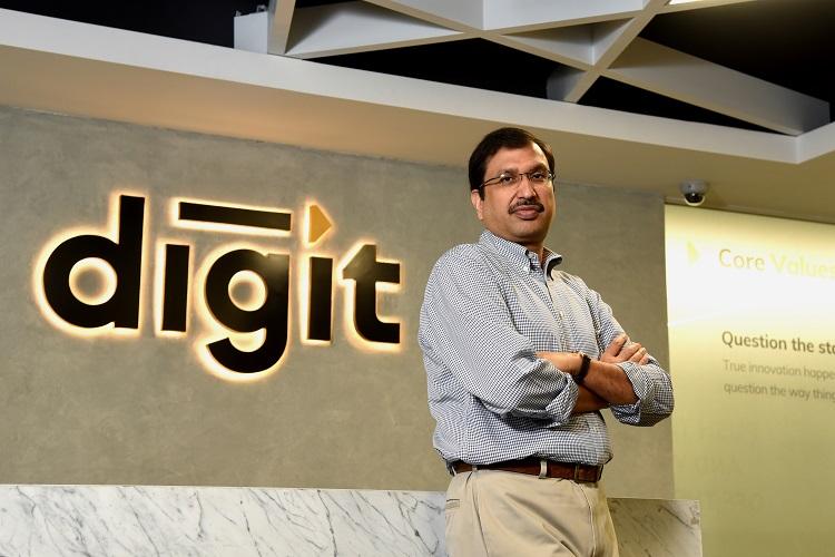 Kamesh Goyal, Founder and Chairman, Digit insurance
