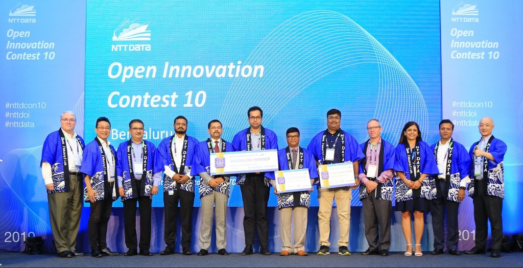 NTT DATA Open Innovation Contest Winners - Finalists from 16 different cities around the world will compete in Tokyo for the 2020 grand finale