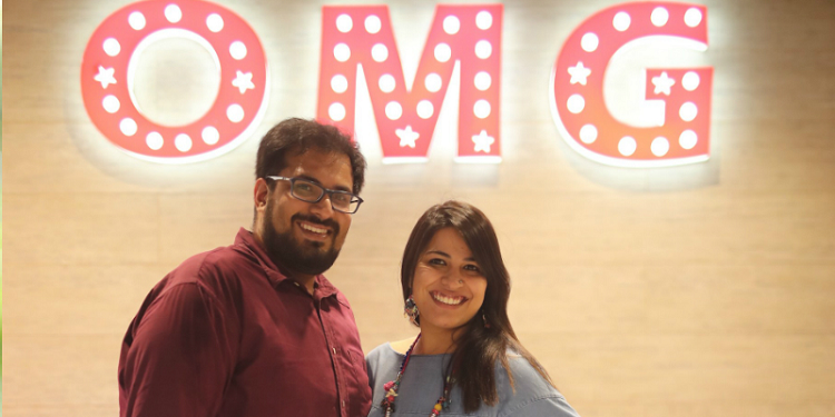 Sahil Sehgal and Aakritti Sethi- Co-founders of OMG