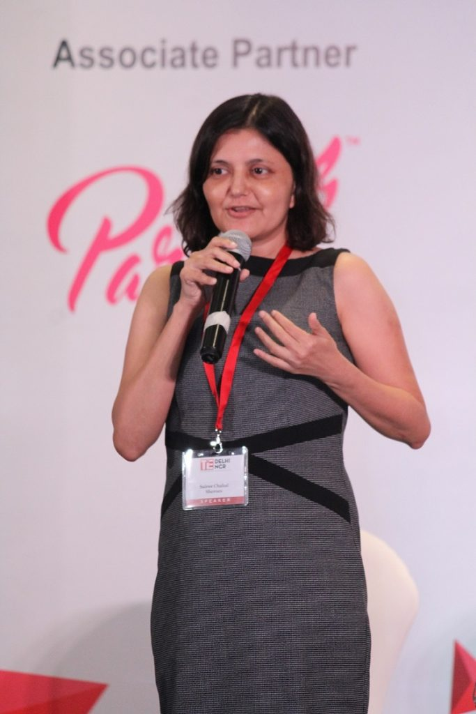 Sairee Chahal, Founder & CEO, Sheroes at New Horizons by TiE Delhi-NCR
