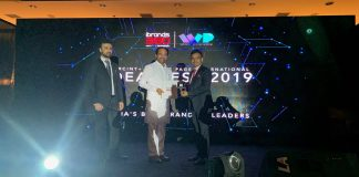 Union Minister of State for Home Affairs, Hon. Kisan Reddy presenting the award to Kailash Desai, MD, Endress+Hauser India