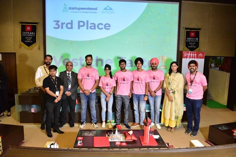 Winners were announced for the Baddi Women start-up Weekend