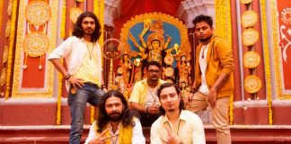 Band - Goshai Gang – Yellow colour for APSS #ColoursOfPujo