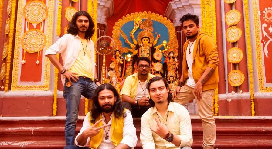 Band - Goshai Gang – Yellow colour for APSS #ColoursOfPujo