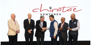 Chiratae Ventures felicitates Mr. Ratan N Tata with the Chiratae Ventures Patrick J. McGovern Lifetime Achievement Award 2019