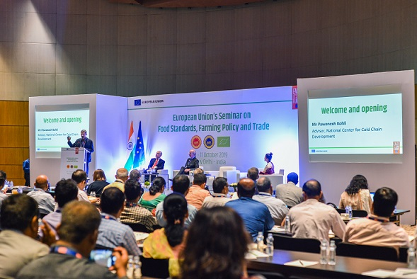 European Union Organised Food and Agriculture Seminar in India