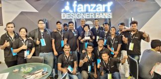 Fanzart Launches Smart Fans Among its 14 New Entrants at AceTech Exhibition