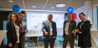 Grand opening of Mavenir's new 5G & IoT Centre of Innovation in Stockholm by Pardeep Kohli, President, Chief Executive Officer, Mavenir