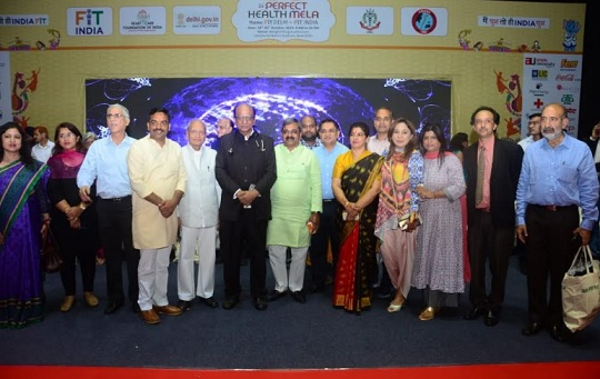 Heart Care Foundation of India (HCFI)'s Annual Flagship Event – the 26th Perfect Health Mela Inaugurated by Leading Dignataries