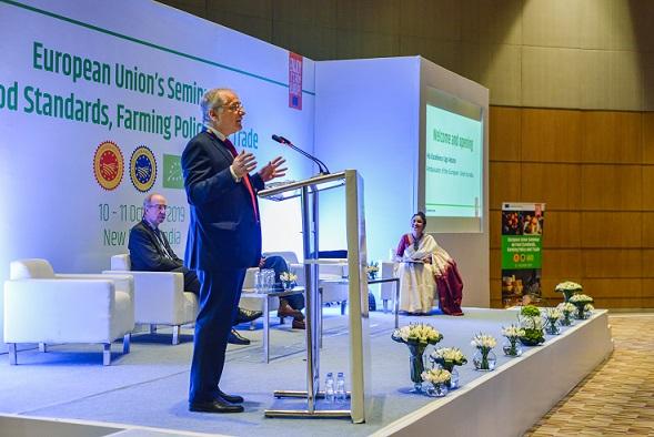 His Excellency Ugo Astuto, Ambassador of the European Union to India
