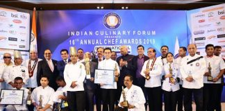 Indian Culinary Forum Organises the 16th Annual Chef Awards the Oscars of Chef Awards in India