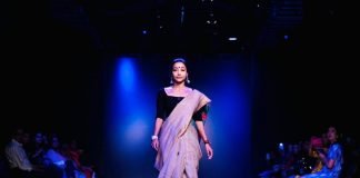 Made in India Jaivik Nari's autumn edition of India Runway Week organized in Delhi